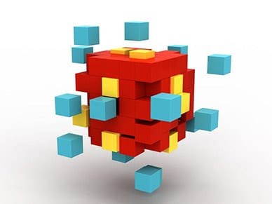 cube scatter